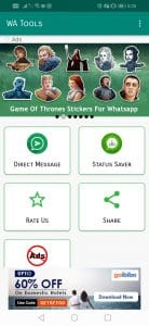 how to save whatsapp status