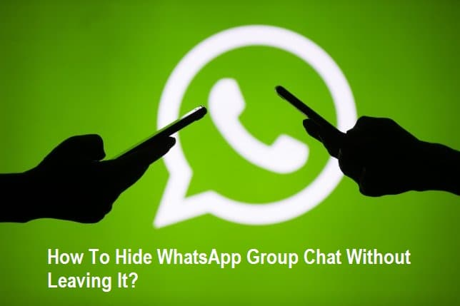 Hide WhatsApp Group Chat