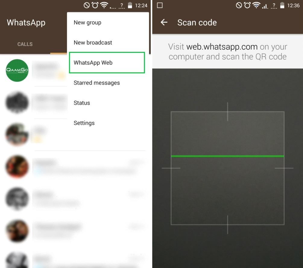 Whatsapp Web Scan